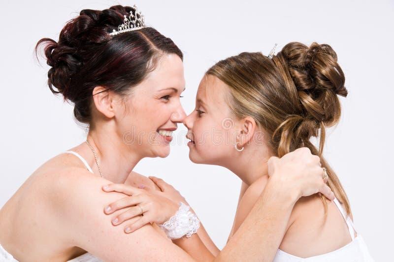Sposa bianca fotografia stock