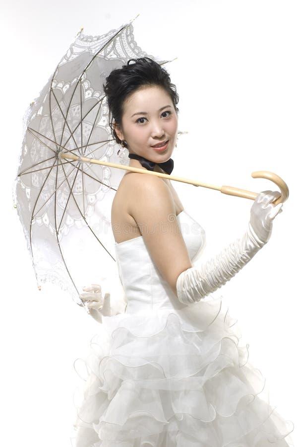 Sposa cinese fotografie stock