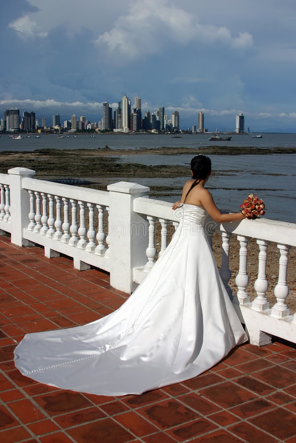 Sposa dal mare fotografia stock