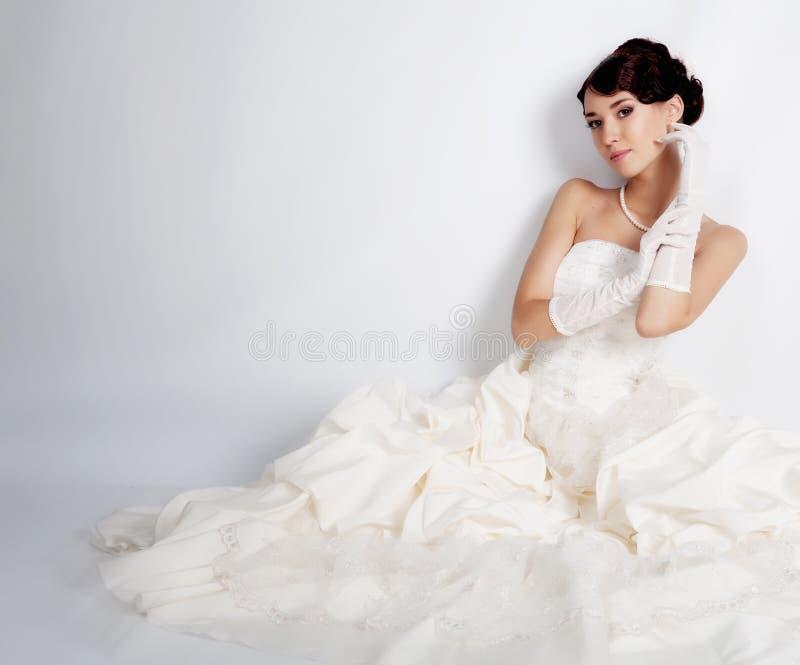 Sposa del Brunette immagini stock