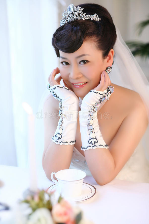 Sposa del caffè immagini stock