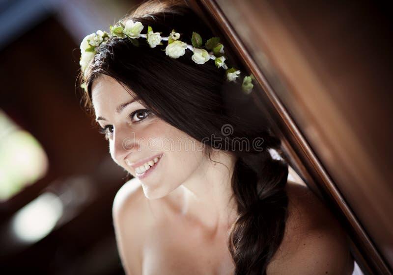 Sposa della campagna immagini stock