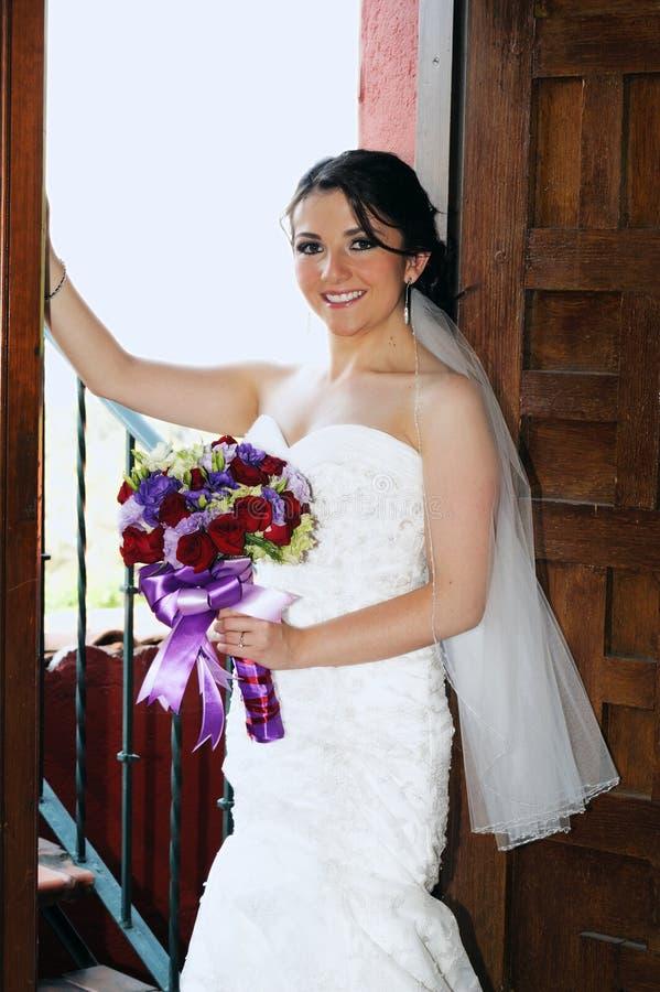 Sposa di cerimonia nuziale immagini stock