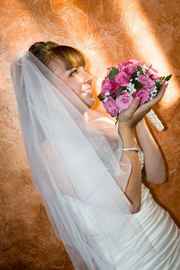 Sposa di cerimonia nuziale immagini stock libere da diritti