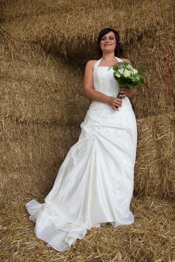 Sposa di Cheerfull fotografia stock libera da diritti