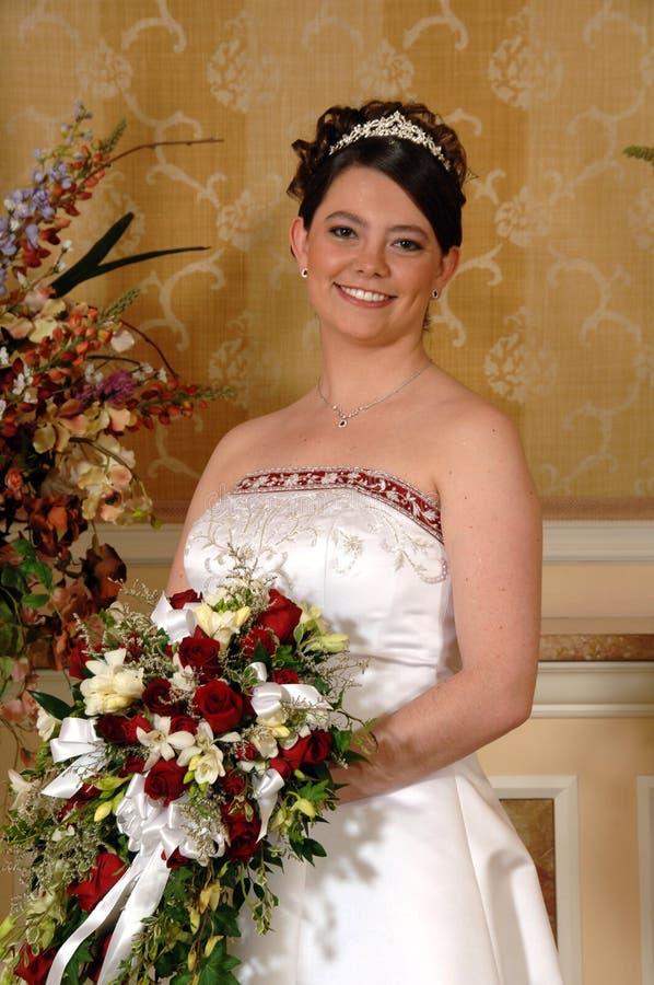 Sposa diritta fotografia stock libera da diritti