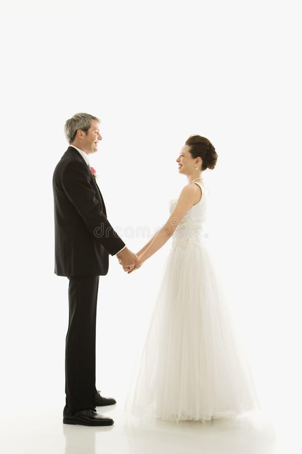 Sposa e sposo. immagini stock libere da diritti