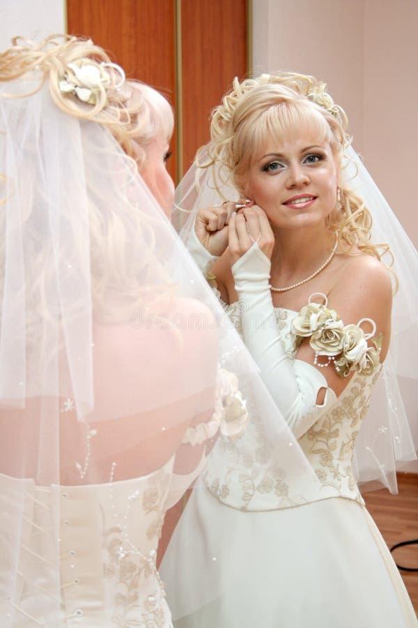Sposa graziosa fotografia stock