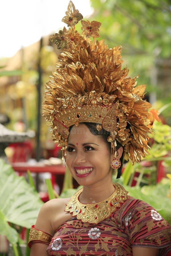 Sposa indonesiana immagine stock