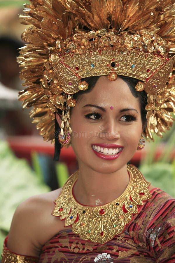 Sposa indonesiana immagine stock libera da diritti
