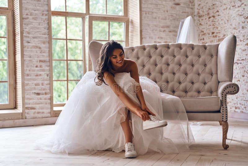 Sposa moderna fotografia stock