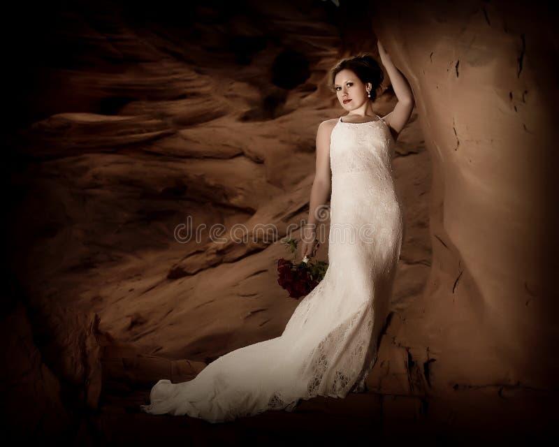 Sposa romantica 1 fotografie stock libere da diritti