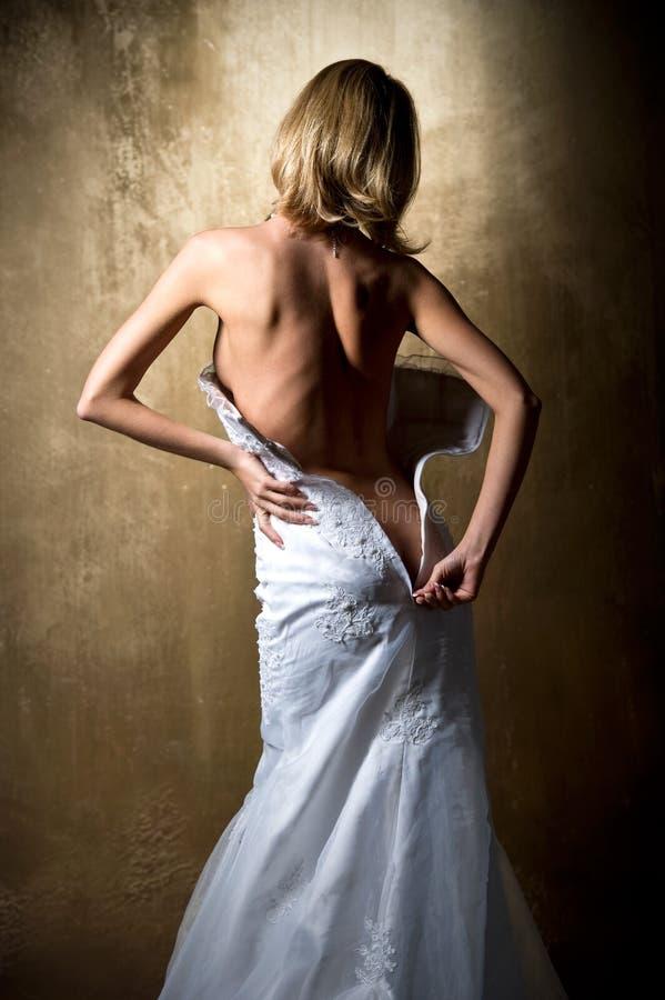 Sposa sensuale fotografie stock libere da diritti