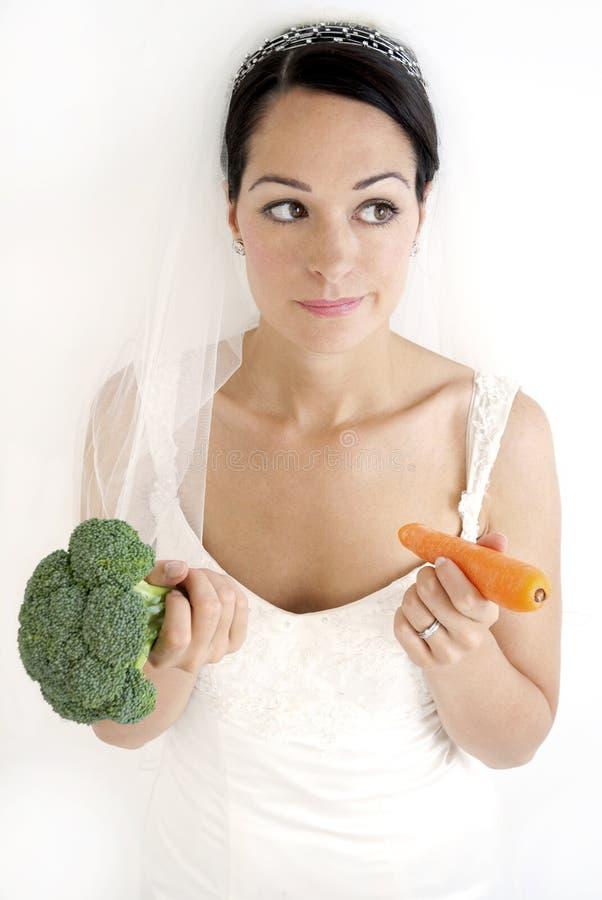 Sposa stante immagini stock libere da diritti
