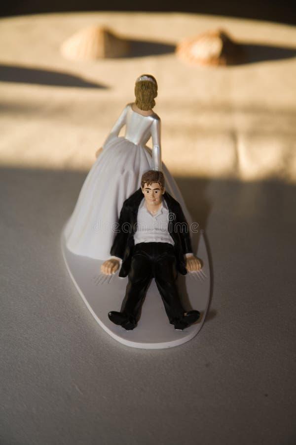 Sposato immagine stock