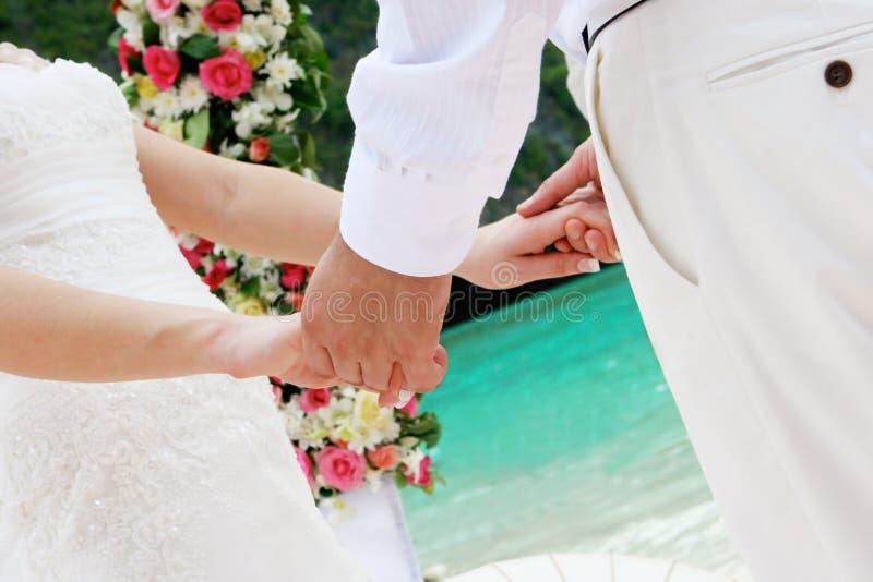 Sposato appena. immagini stock