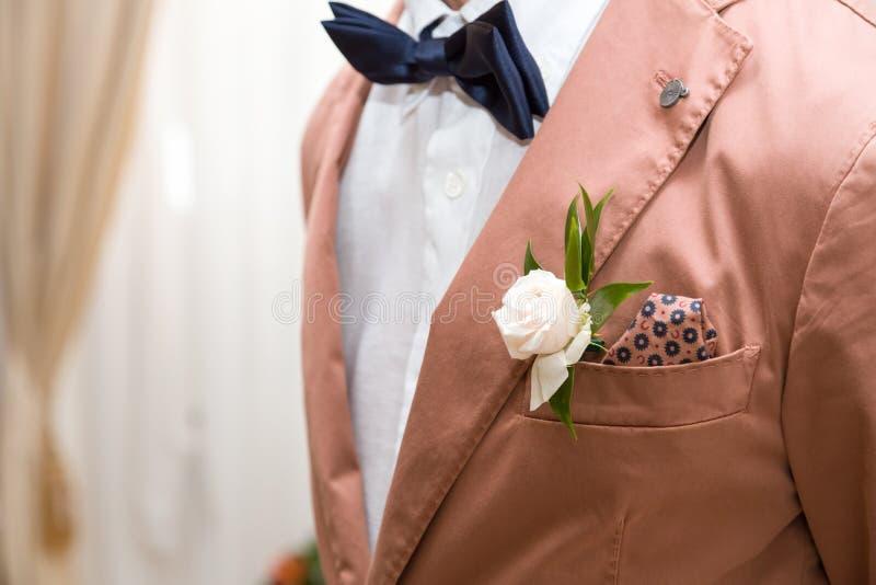 Sposo del vestito fotografia stock libera da diritti