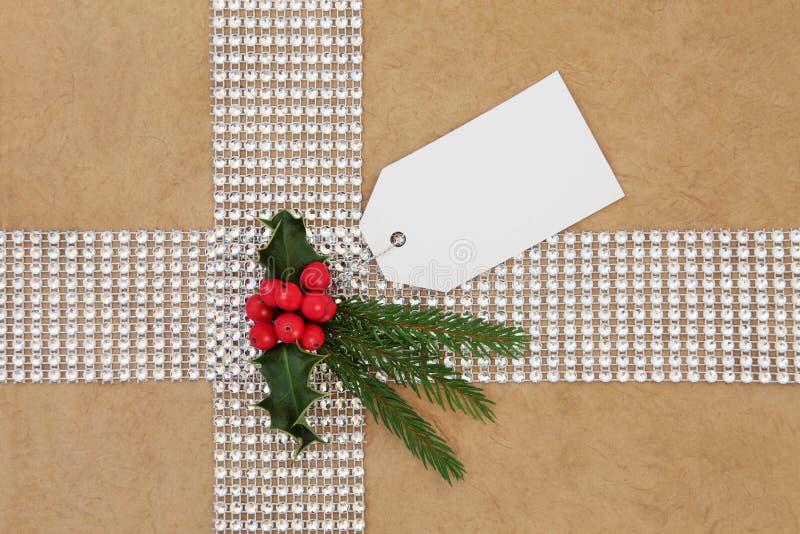 Spostamento di regalo di Natale fotografie stock libere da diritti