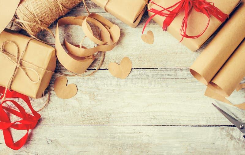 Spostamento di regalo per il caro fotografie stock