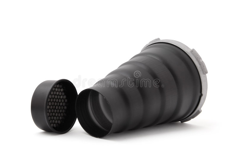 Spot Conical Nozzle For Studio Flash. Royalty Free Stock Photo