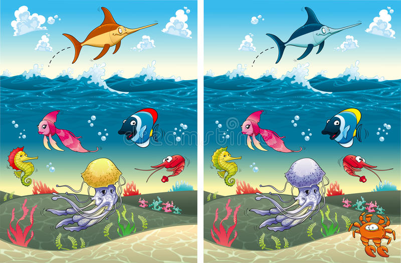 Spot the differences stock vector illustration of ocean 46668201 download spot the differences stock vector illustration of ocean 46668201 altavistaventures Choice Image