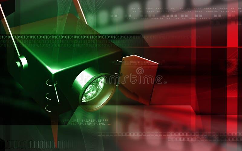 Spot light vector illustration