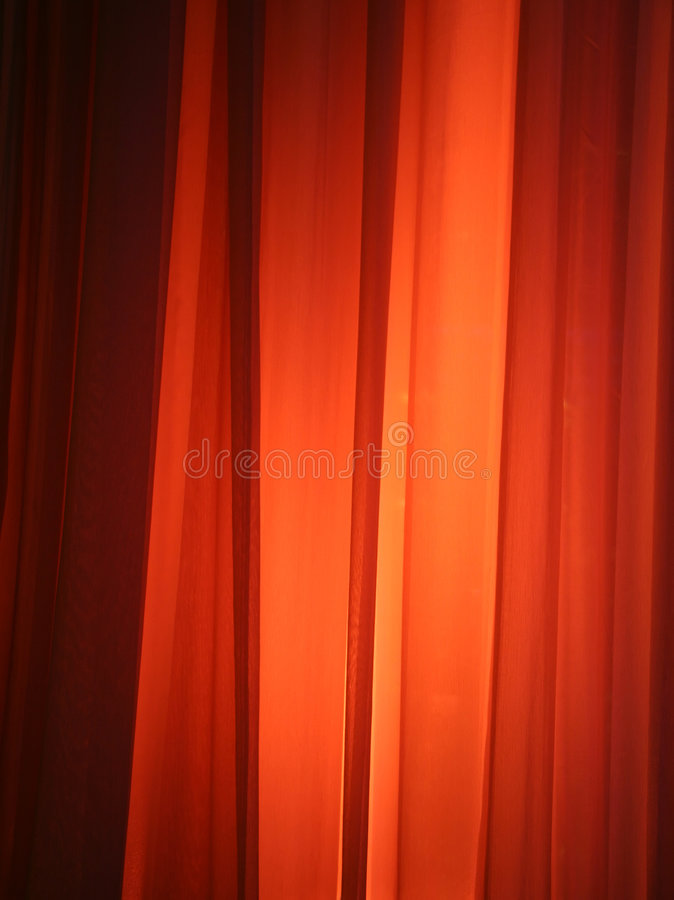 Download Spot Light Against Curtain stock image. Image of fabric - 1612987
