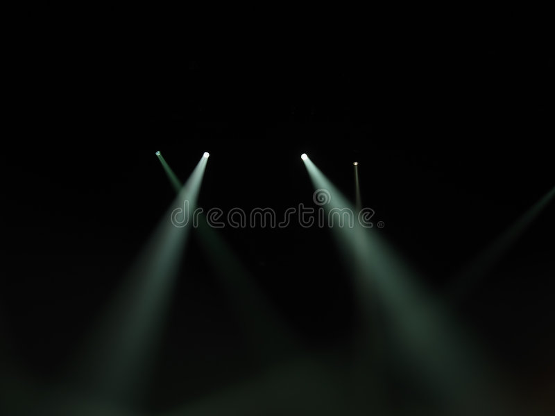 Download Spot Light Beams In Darkness Stock Photo - Image of light, beams: 3322286
