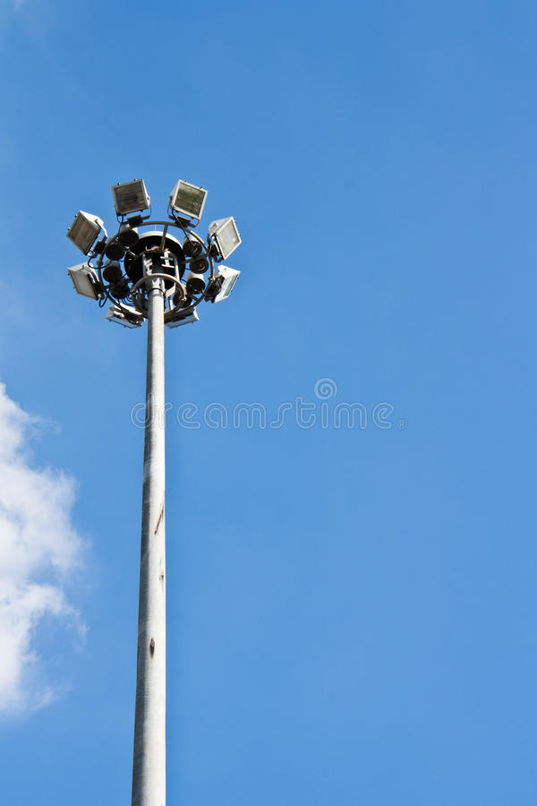 Download Spot-light Tower Royalty Free Stock Photography - Image: 22443717