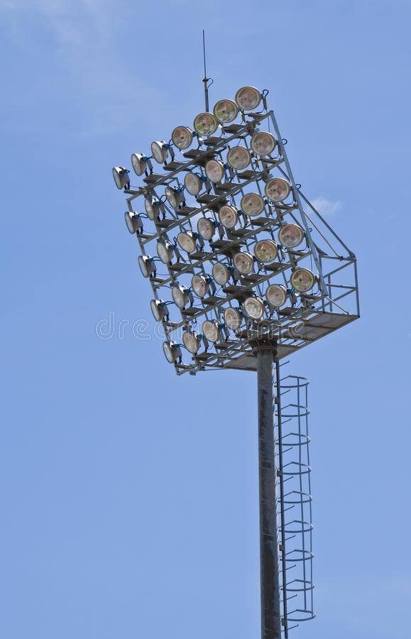 Download Spot-light tower stock photo. Image of construction, beam - 26077870
