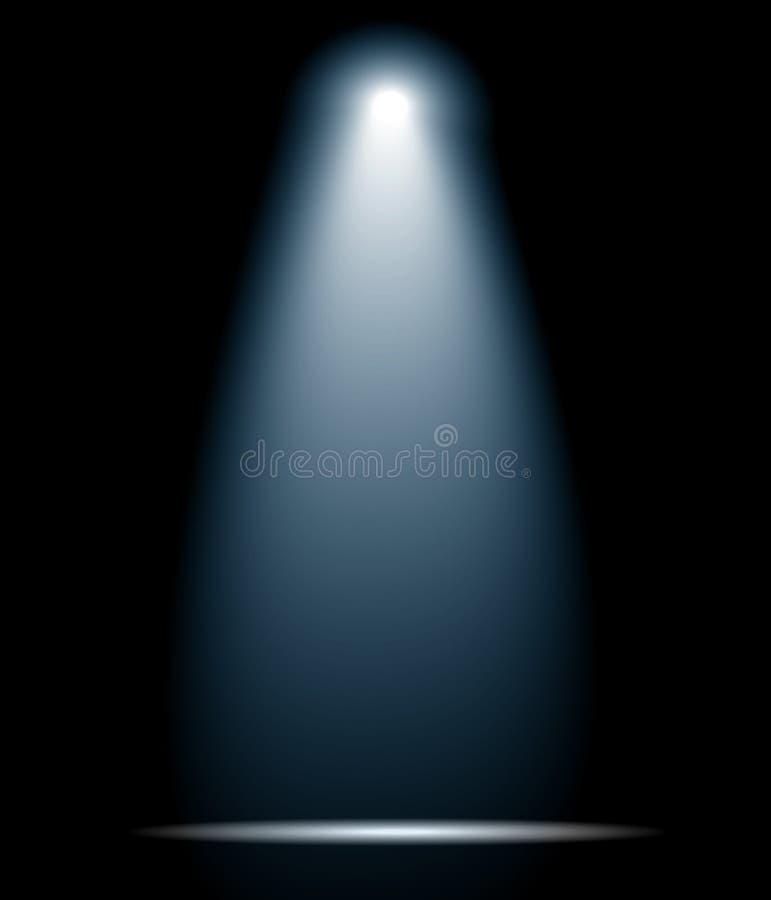Spot light. Vector stage single