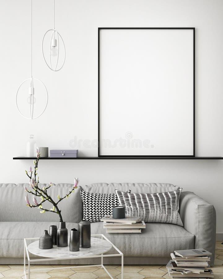 Spot op affiche, vector illustratie