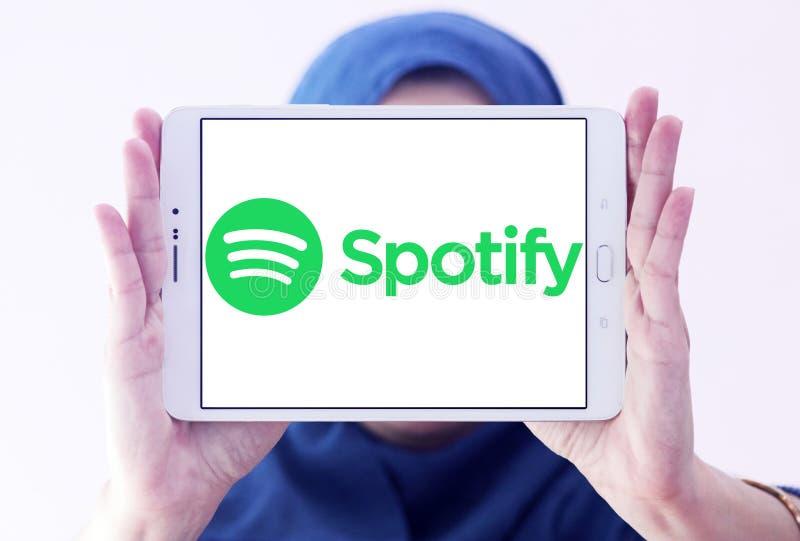 Spotify-Logo lizenzfreie stockfotografie