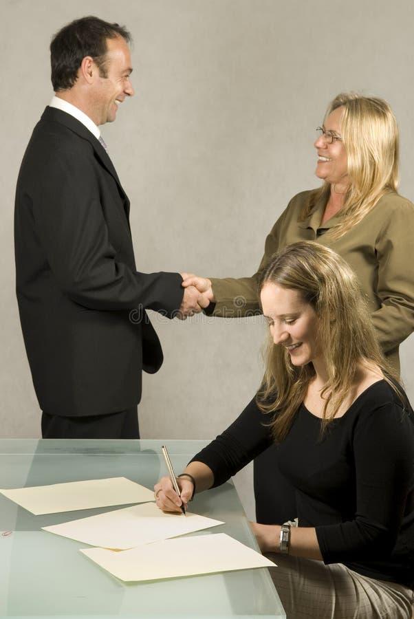 spotkań biznesowi ludzie zdjęcie royalty free