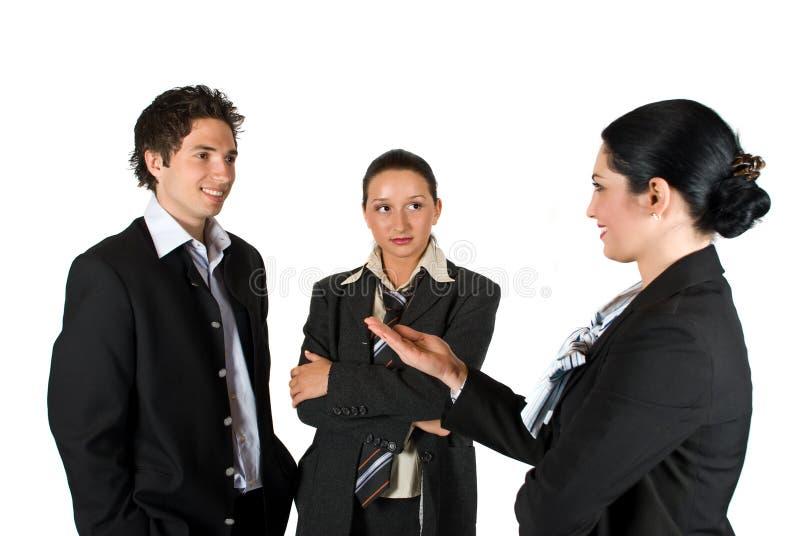 Spotkań ludzie biznesu zdjęcia stock