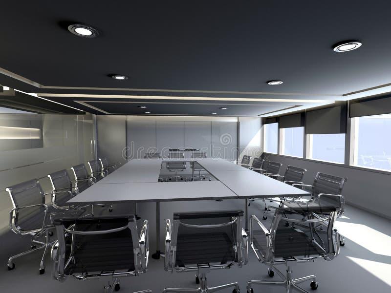 spotkania biura pokój royalty ilustracja