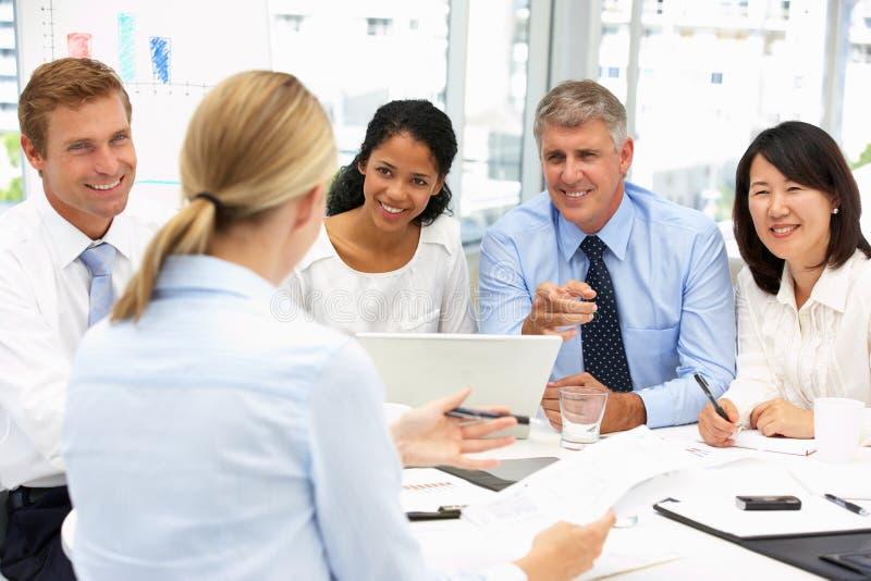 spotkania biura rekrutacja zdjęcia royalty free