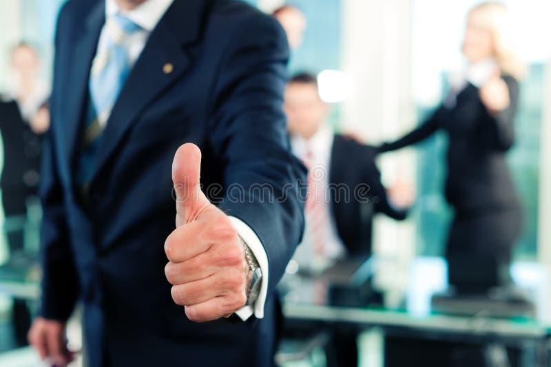 spotkania biznesowy biuro fotografia stock