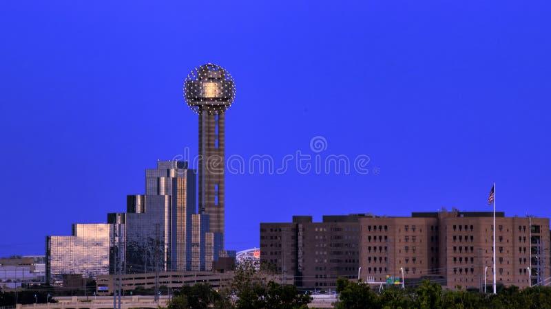 Spotkania wierza, Dallas zdjęcia stock