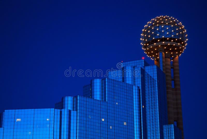 Spotkania wierza Dallas fotografia stock