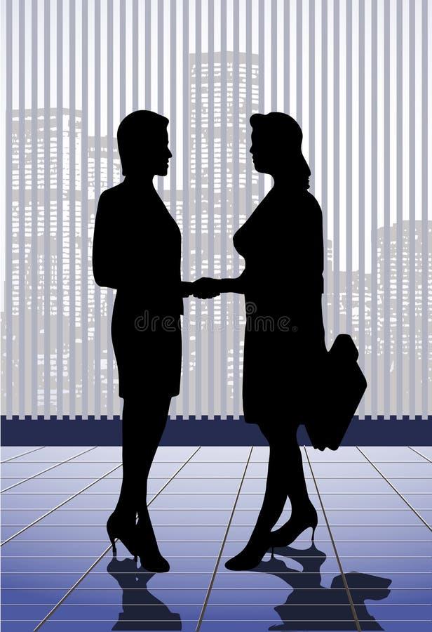 Download Spotkanie biznesmeni ilustracja wektor. Ilustracja złożonej z utracjuszi - 28967013