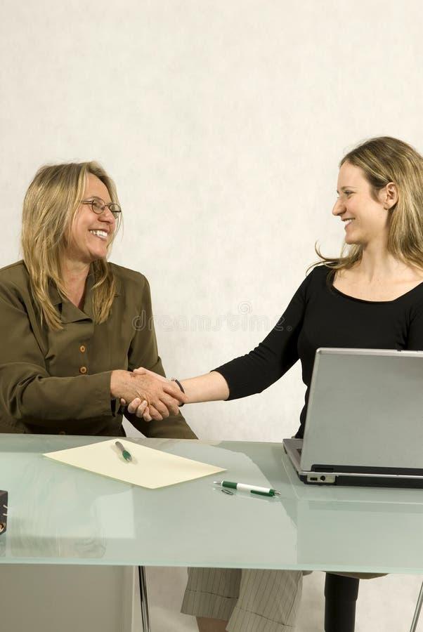 spotkanie biznesowe kobiety obraz stock