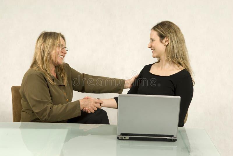 spotkanie biznesowe kobiety zdjęcia stock