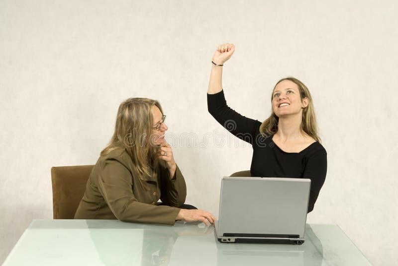 spotkanie biznesowe kobiety zdjęcie stock