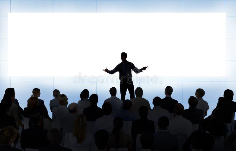 Spotkanie pracy zespołowej Seminaryjny Konferencyjny Biznesowy pojęcie obrazy stock