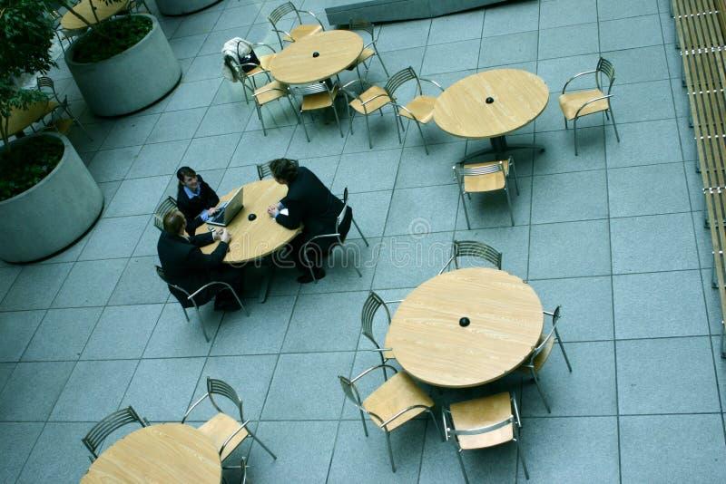 spotkanie tabel zdjęcie royalty free