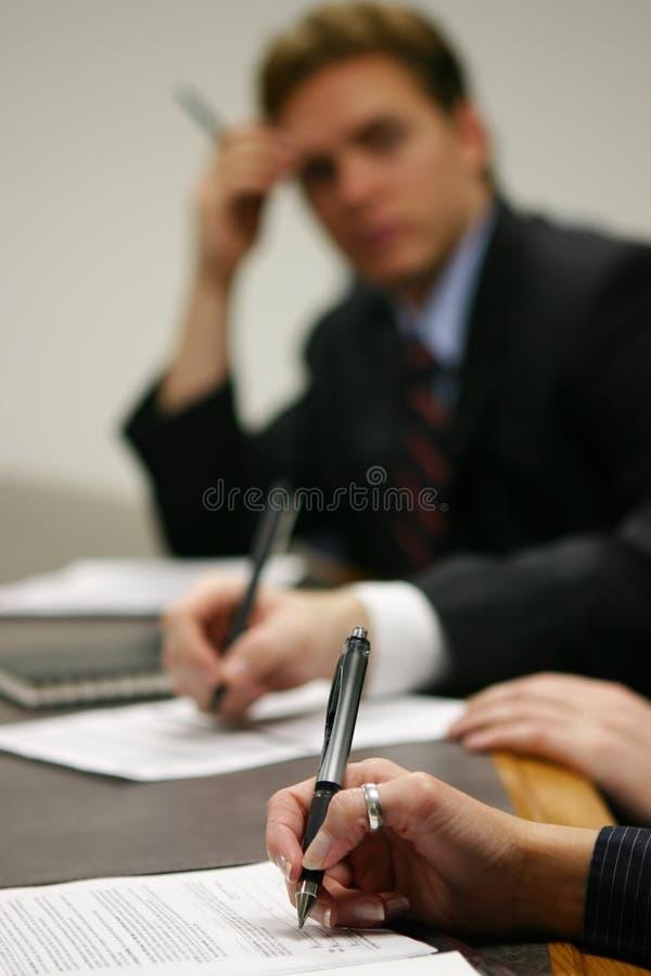spotkanie w interesach obraz stock