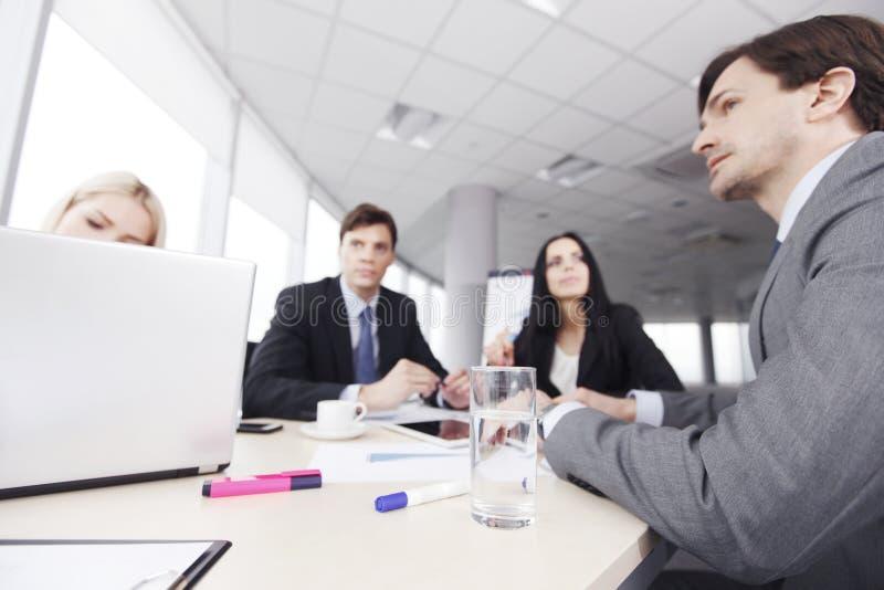 spotkanie w interesach ludzi obrazy stock