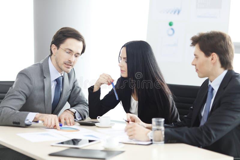 spotkanie w interesach ludzi obraz royalty free