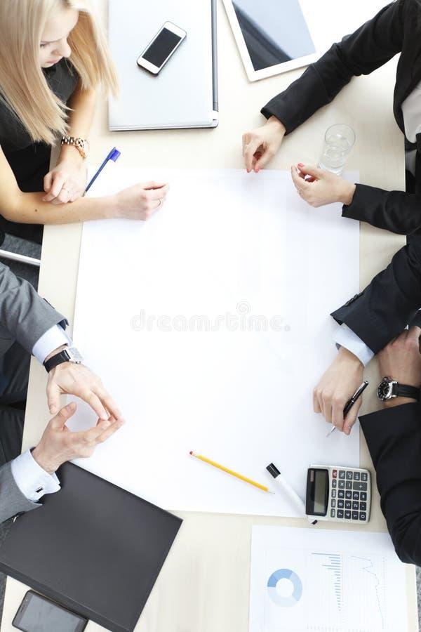 spotkanie w interesach ludzi zdjęcie stock